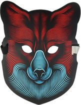 Simon Jones -  LED Party Rave Masker - De Vos