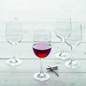 Rode wijnglas 0,44L Montana - 6 stuks