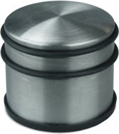 Deurstopper - Deurstop - Deurvastzetter - Deurbuffer - Roestvrij Staal - Hoog Design - Anti Slip - 9 x 9 x 7 CM