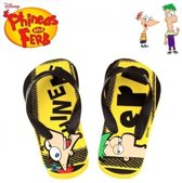 Phineas and Ferb slippers, maat 28