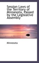 Session Laws of the Territory of Minnesota, Passed by the Legislative Assembly