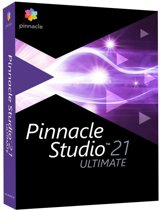 Pinnacle Studio 21 Ultimate - Nederlands / Engels / Frans - Windows