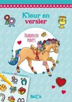 Kleur en versier - Paarden en pony's (met wrijfplaatjes)