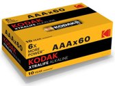 Kodak Batterijen XTRA LIFE - AAA - 60 stuks
