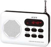 Ices IMPR-112 - Draagbare radio - Wit