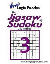 Brainy's Logic Puzzles Hard Jigsaw Sudoku #3