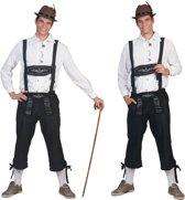 Boeren Tirol & Oktoberfest Kostuum | Tiroler Neurenberg Man | Maat 56-58 | Bierfeest | Verkleedkleding