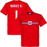 Costa Rica Keylor Navas Team T-Shirt - M