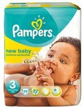 Pampers New Baby luiers Maat 3 - 66 luiers in het pak