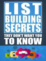 List Building Secrets