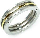 Boccia Titanium 0124-02 Ring - Titanium - Bicolor