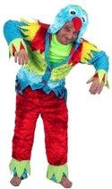 Kostuum papegaai 2 dlg mt.L/XL