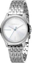 Esprit ES1L028M0055 horloge dames - zilver - edelstaal