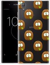 Sony Xperia XA1 Plus Hoesje Crazy Kiwi