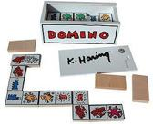 Houten Keith Haring domino spel - collectors item - VILAC