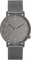 Komono Black Lewis Mesh horloge  - Grijs