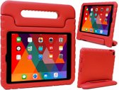 iPad 2017 Kids Proof Case Kinder Hoesje Kids Case Shock Cover - Rood