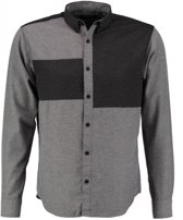 Only & sons stevig zacht grijs overhemd - Maat S