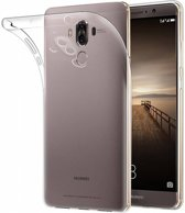 Huawei Mate 9 transparant ultra dunne slim fit silicone TPU backcover hoesje