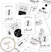 Mijlpaalkaarten - Milestone kaarten - Mijlpaal - Babykaart - Mijlpaal baby - Babykaarten