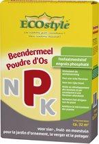 ECOstyle Beendermeel - 1,6 kg - fosfaatmeststof voor sier-,fruit- en moestuin - voor ca. 32 m2