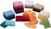 Vossen handdoek Vienna Style Supersoft 60x110 burgundy