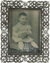 2F0140 - Fotolijst - 10 x 12 / 6 x 9 cm - ijzer - zilver
