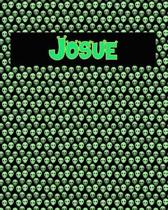 120 Page Handwriting Practice Book with Green Alien Cover Josue