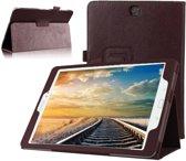 GSMWise® – Samsung Galaxy Tab A 9.7 T550 - Leather Book Cover Flip Hoes voor bescherming voor- en achterkant – Kleur Bruin