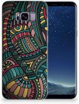 Samsung Galaxy S8 Plus TPU Hoesje Design Aztec