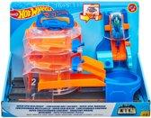 Hot Wheels City Super Spin Dealer Speelset