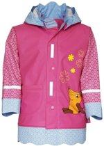 Playshoes Regenjas Kinderen Muis - Roze - Maat 116