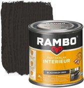 Rambo Pantserlak Interieur Transparant Mat Blackwash 0802-0,75 Ltr