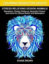 Coloring Books for Adults Stress Relieving Design Animals