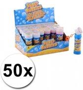 50 stuks voordelige kinder bellenblaas 50 ml