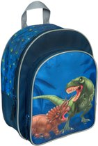 Dinosaurus rugtas - Medium - blauw - kids