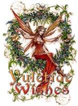 Briar Kerstkaart Mistletoe Fairy