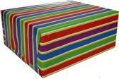 Inpakpapier met strepen 200 x 70 cm op rol type 1 - cadeaupapier