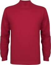Alan Red T-shirt Illinois, turtleneck, steenrood