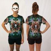 Bones Sportswear Dames T-shirt Mandala maat L