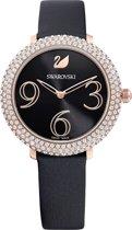 Swarovski Crystal Frost horloge  - Zwart