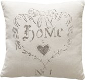 ATHM Home is heart cushion Sand 40x40