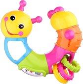 Huile Toys Rammelaar Worm Multicolor