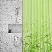 Roomture - douchegordijn - Nature green - 180 x 200