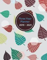 Three Year Planner 2019 - 2021 Bao