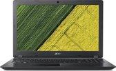 "ACER ASPIRE 3 15.6""Full HD - I3-7020U - 4GB Ram - 256Gb SSD - Windows 10 - Zwart - Azerty"