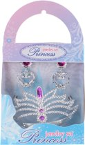 Free And Easy Prinsessenset 3-delig Roze/zilver