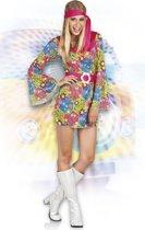 Volwassenenkostuum hippie Sweet Meadow (M) - Carnavalskleding