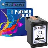 PlatinumSerie® 1 Cartridge/ patroon alternatief voor HP 302 XL black
