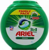 Ariel 3in1 Pods Original - Wasmiddelcapsules - 47 Wasbeurten